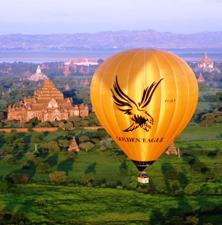 ‪Golden Eagle Ballooning Myanmar‬
