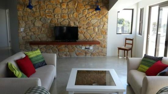 Plett Beachfront Accommodation: Penthouse Living area