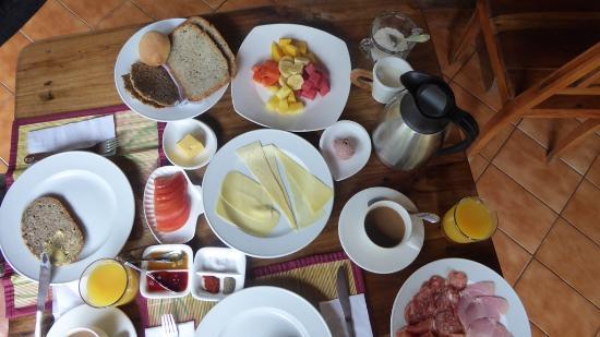Rio Cocles : das Frühstück, der Hammer.