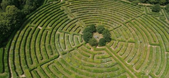 Creuse, France: Labyrinthe Géant des Monts de Guéret ©Saison d'Or