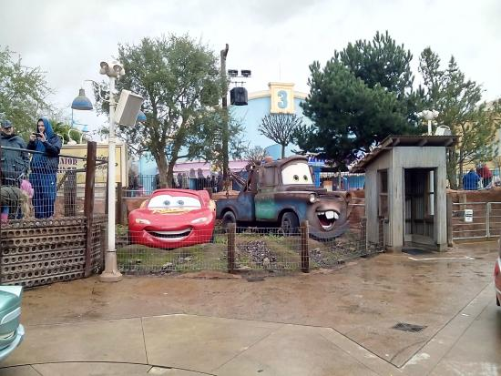 Cars Quatre Roues Rallye Picture Of Walt Disney Studios Park
