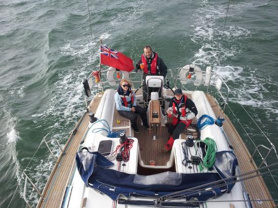 Hamble, UK: Day Sailing in The Solent