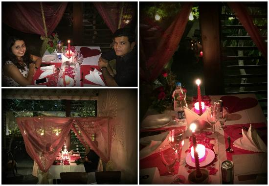 Bayleaf Multi Cuisine Restaurant: Candle Light Dinner