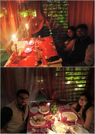 Charming Bayleaf Multi Cuisine Restaurant: Candle Light Dinner