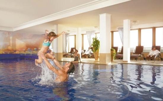 Hotel Alpenhof Hintertux : Hallenbad
