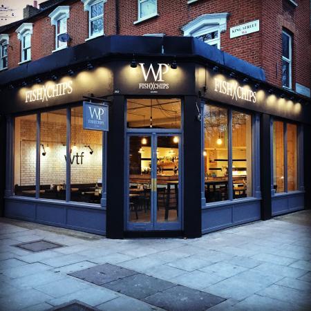 Fish x chips london 262 king st restaurant reviews for Fish chips restaurant