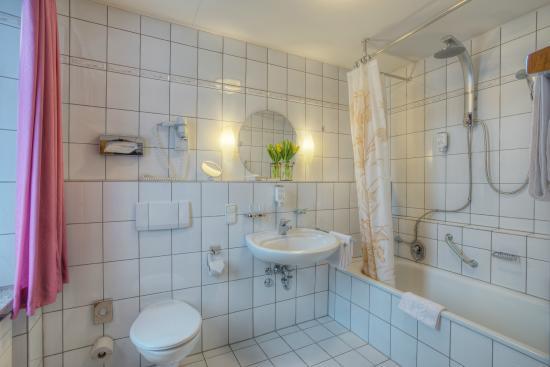 Hotel Paulin : Badezimmer