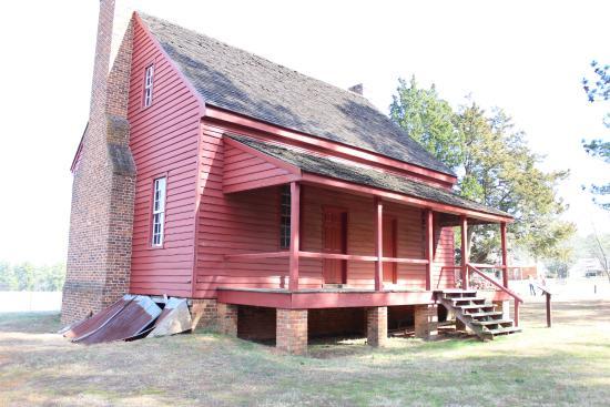 Callaway Plantation: Red Cabin