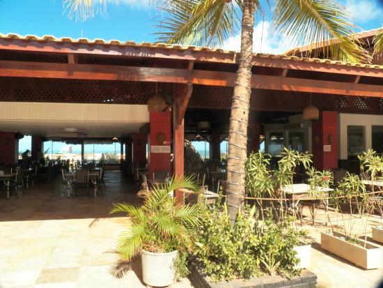 Restaurante Boi Negro Beach: Entrada do restaurante