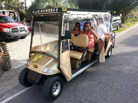 Golden Sun Taxi