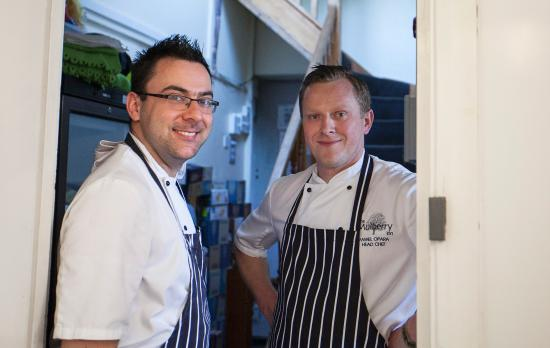 The Mulberry Inn: Our Head Chef Pawel Opara and Sous Chef Karol