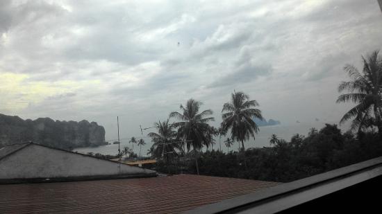 Aonang Top View : Вид из окна