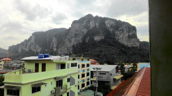 Aonang Top View : Вид с балкона