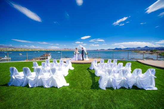The Nautical Beachfront Resort Lakeside Terrace Wedding