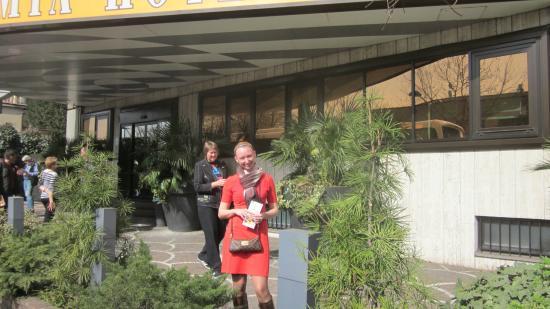 Antares Hotel Accademia: Вход в отель
