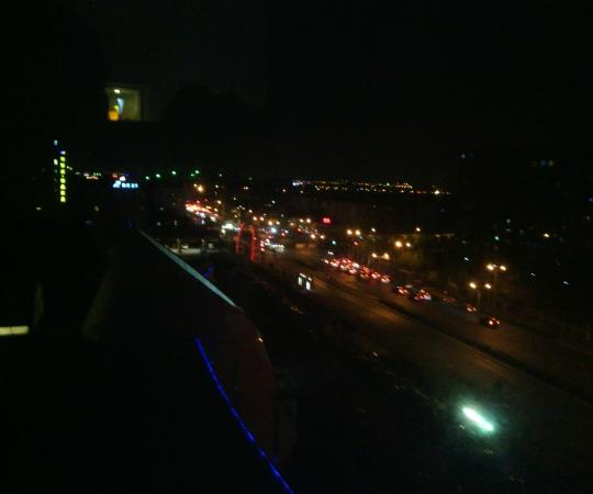 Noble Center Hotel : 夜景