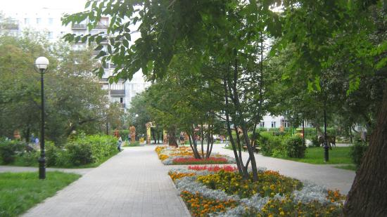 Сквер Тенистый