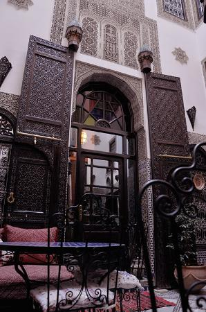 Riad Hala: Entrance to our room