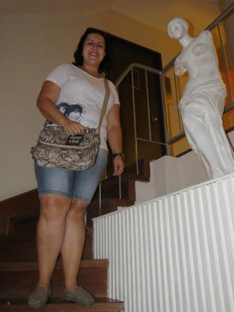 Alvear: escada