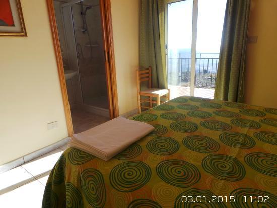 Le Querce GuestHouse: Dettagli camera doppia