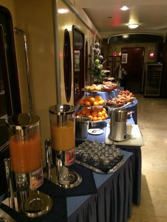 Seaside Park Hotel Leipzig: Desayuno Buffet