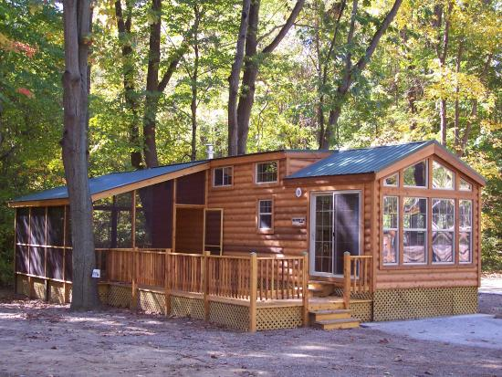cabin picture of lakeside cabins resort three oaks