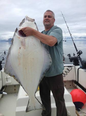 80lb halibut picture of oasis alaska charters ketchikan for Halibut fishing in ketchikan
