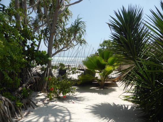 Pumzika Beach Resort: Privatstrand