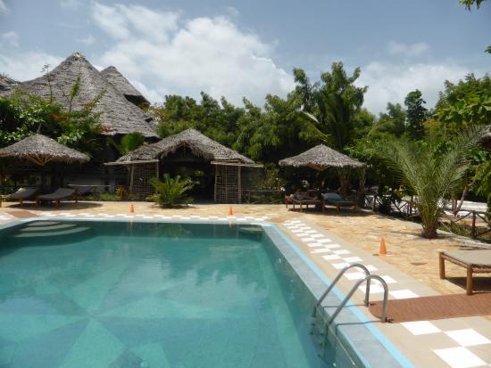 Pumzika Beach Resort: Pool