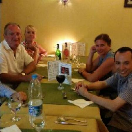 Deans Bistro : Last evening meal in Egypt