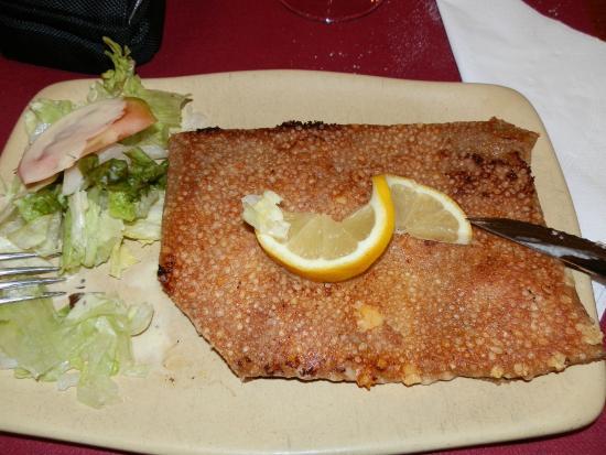 Restaurante Creperia Le Dolmen : Todo riquísimo!!!