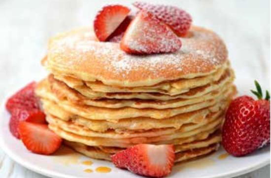 The Sterling Spoon Café: Cheesecake pancakes