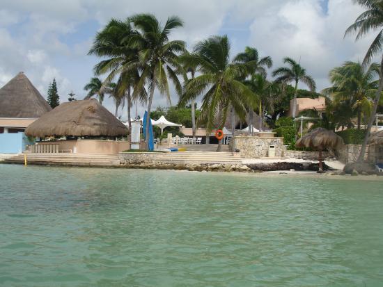 Hotel Puerto Aventuras donde se ubica el local de Dive Aventuras