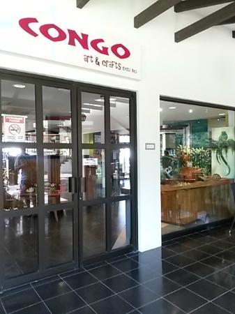Congo Cafe, Arte & Diseno: Fachada
