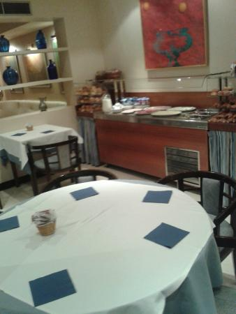 Hotel Atlantis: Salón de desayuno