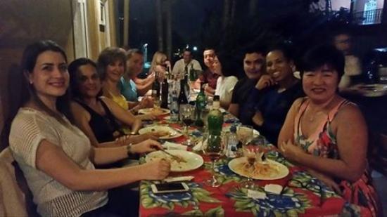 Tratoria da Margo: Com amigos