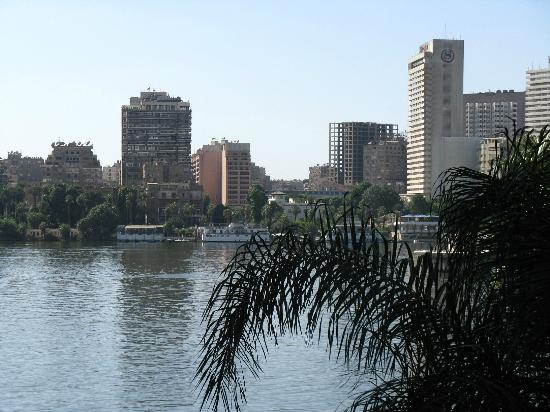 Zamalek (Gezira Island): Nad Nilem