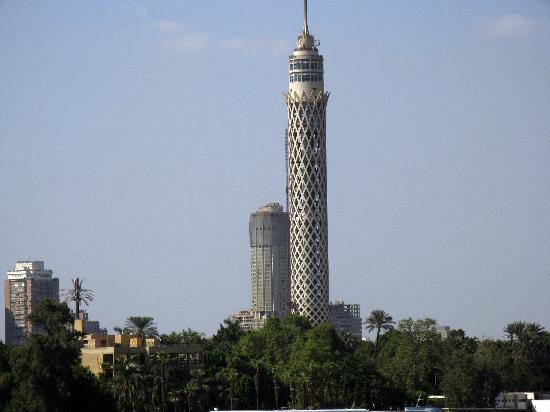 Zamalek (Gezira Island): Wieża telewizyjna w Kairze