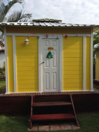 Hostal Casa Amarilla: Cabana 2 met kerst
