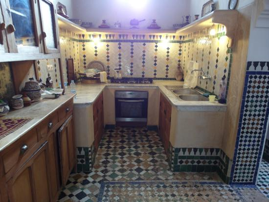 Dar Jnane : Kitchen