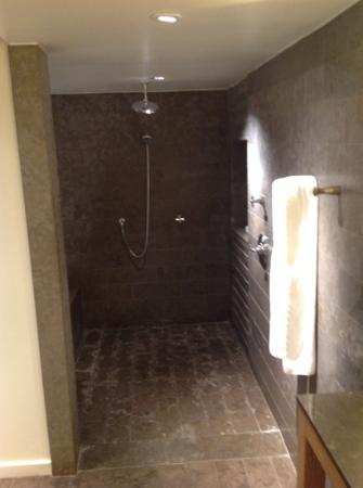 Huge walk in rain shower picture of park hyatt for 1201 salon dc reviews