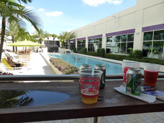 Seminole Hard Rock Hotel Tampa: pool area