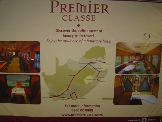 Premier Classe Train : The Route Map