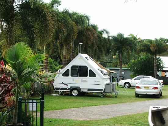 Daintree Riverview Lodges & Camp Ground : Top deck of caravan park