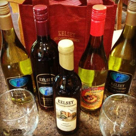 Kelsey See Canyon Vineyards : Wine club shipment