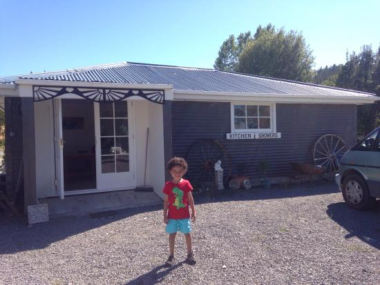 Cheviot Motel and Holiday Park: Beautiful kitchen facilities and amenities