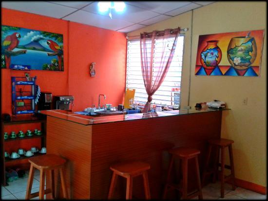 Backpackers Manahuac : Coffee Shop