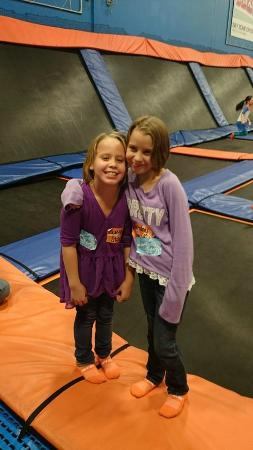 Sky Zone Trampoline Park-Columbus: The birthday girls