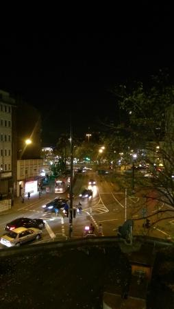Hotel Residenz: Aussicht auf den Worringer Platz