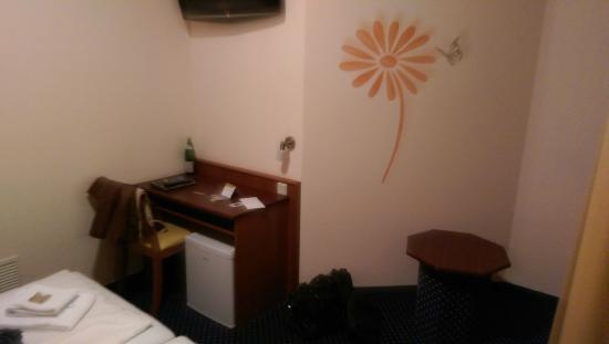 Residenz Duesseldorf Hotel : Nische mit Schreibtisch